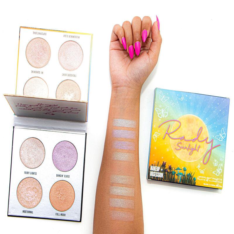 Makeup Obsession X Rady Moonlight/ Sunlight Highlighter Palette