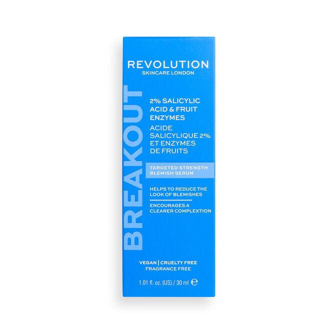 Revolution Skincare 2% Salicylic Acid and Fruit Enzyme Anti Blemish Serum