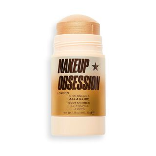 Makeup Obsession All A Glow Highlighter Shimmer Stick Glistening Gold