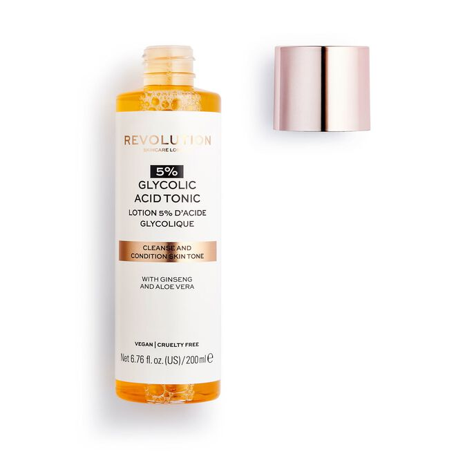Revolution Skincare 5% Glycolic Acid AHA Glow Liquid Exfoliant Toner