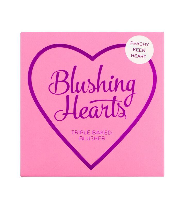 Blushing Hearts - Peachy Keen Heart Blusher