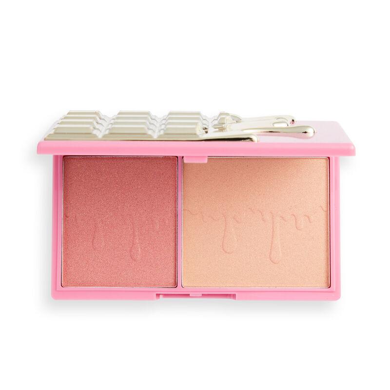 I Heart Revolution Rosé Fizz Glow Chocolate Face Palette