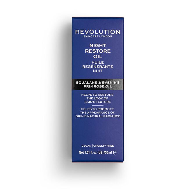 Revolution Skincare Squalane Night Restore Oil