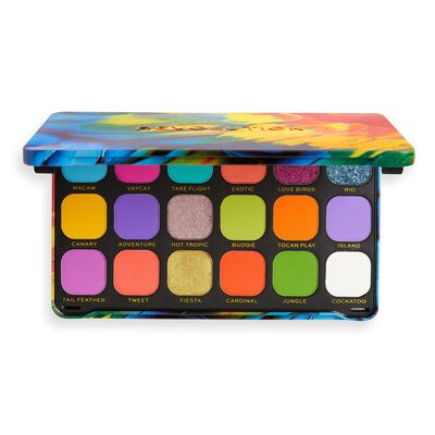 Makeup Revolution Forever Flawless Bird of Paradise Eyeshadow Palette