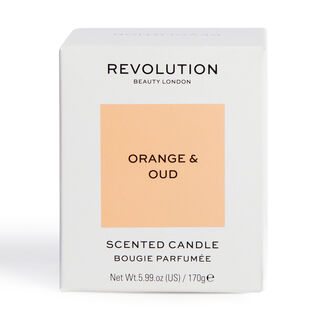 Revolution Home Orange & Oud Scented Candle