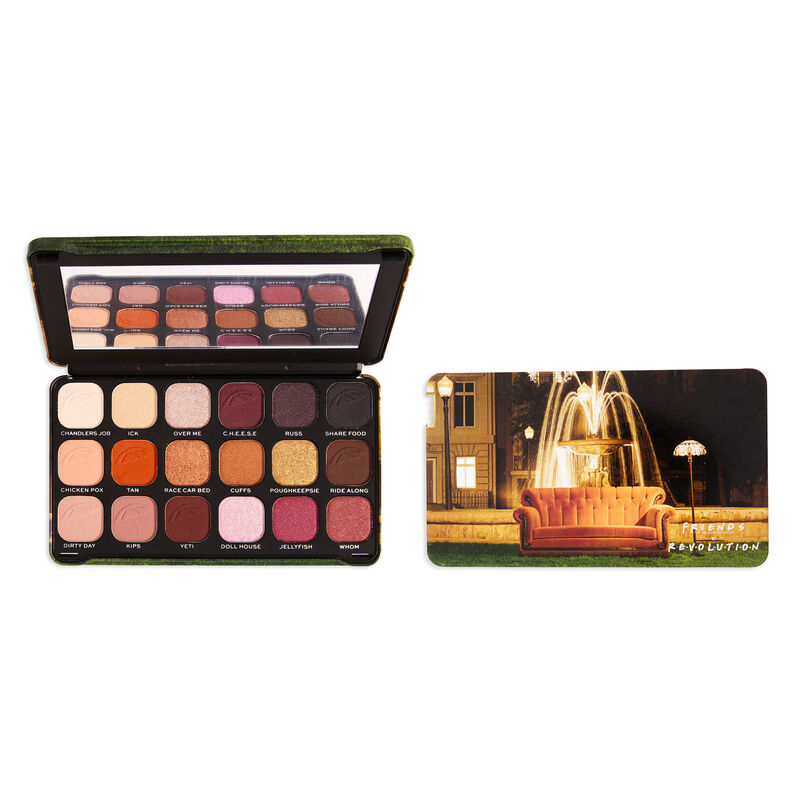 Makeup Revolution X Friends Forever Flawless I'll Be There For You Eyeshadow Palette