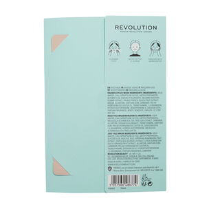 Makeup Revolution X Friends Male Sheet Mask Set