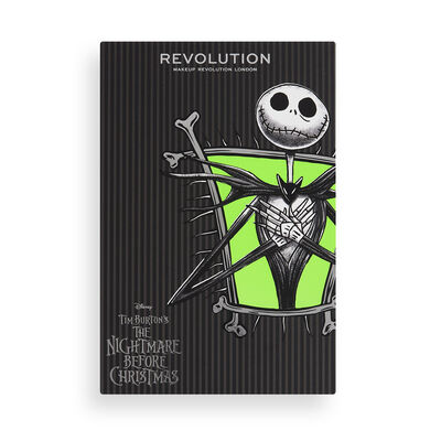 Makeup Revolution Disney Nightmare Before Christmas Eyeshadow Palette Jack