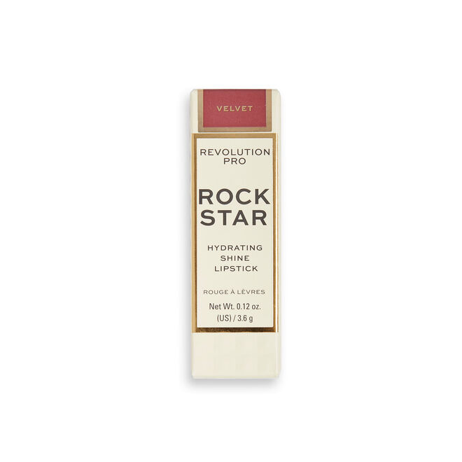 Revolution Pro Rockstar Hydrating Shine Lipstick Velvet