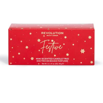 Revolution Home Festive Mini Candle Gift Set