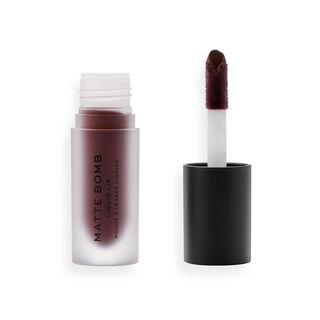 Makeup Revolution Matte Bomb Liquid Lipstick Satin Chocolate