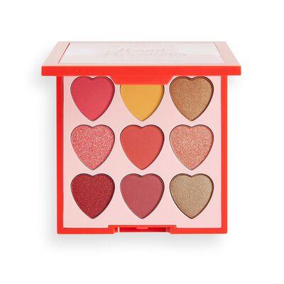 I Heart Revolution Heartbreakers Courage Eyeshadow Palette