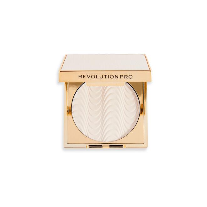 Revolution Pro Protect Mattifying Translucent Pressed Setting Powder SPF6