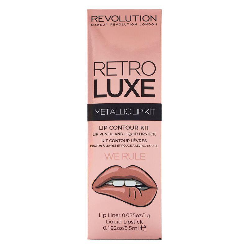 Retro Luxe Kits Metallic We Rule