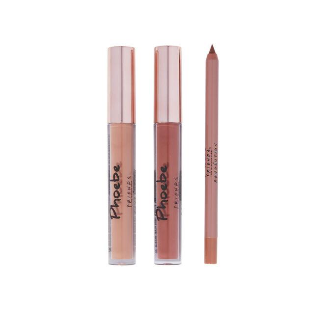 Makeup Revolution X Friends Phoebe Lip Set