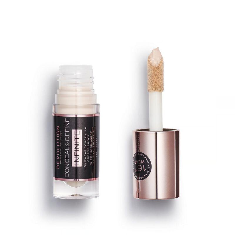 Makeup Revolution Conceal & Define Infinite Longwear Concealer (5ml) C0.1