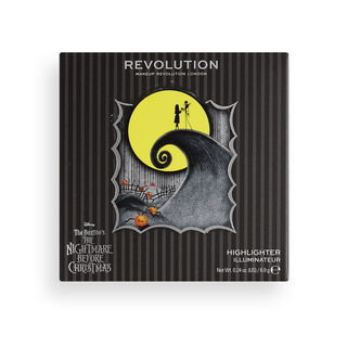 Makeup Revolution Disney Nightmare Before Christmas Highlighter Moonlight, Mischief & Madness