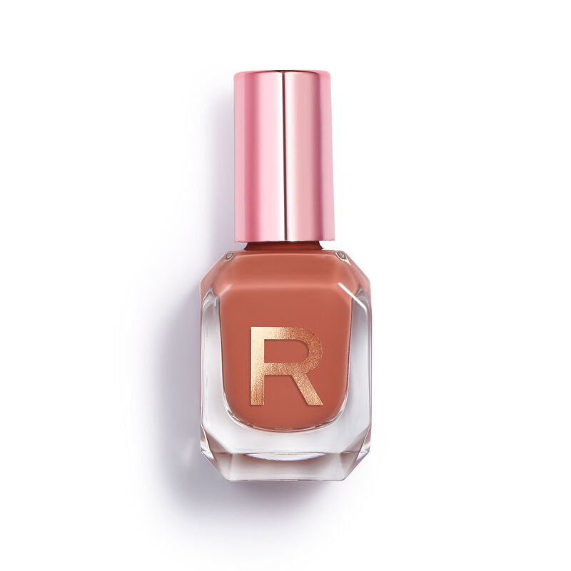 High Gloss Nail Polish Caramel