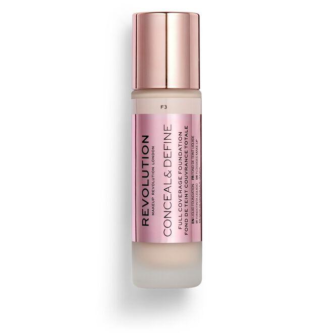 Makeup Revolution Conceal & Define Foundation F3