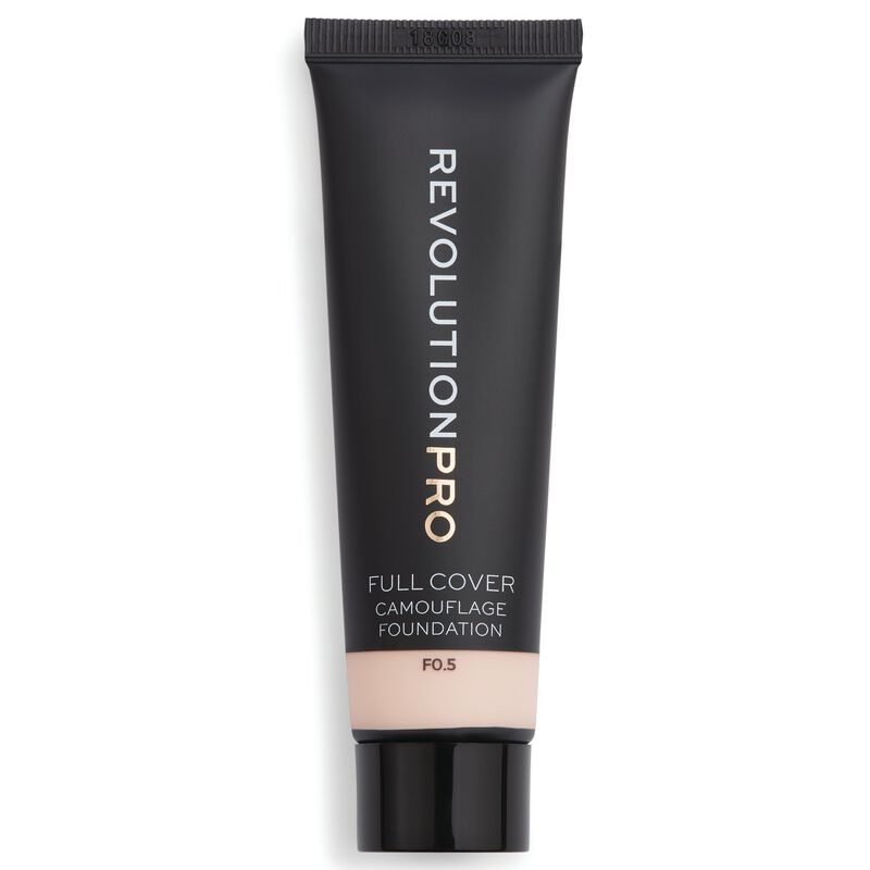 Full Cover Camouflage Foundation F0.5