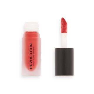 Makeup Revolution Matte Bomb Liquid Lipstick Lure Red
