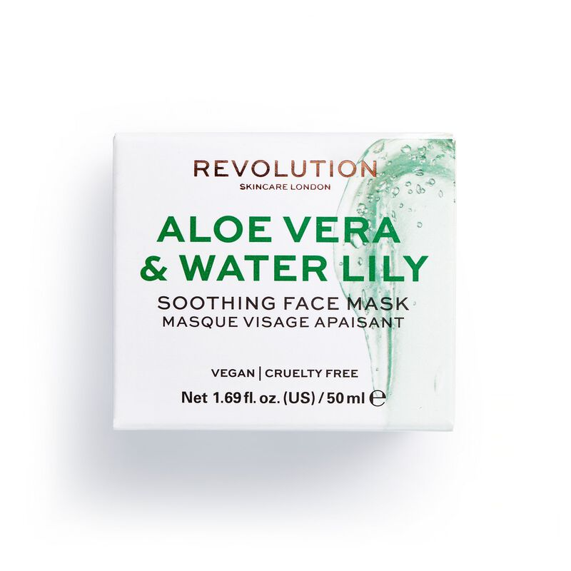 Revolution Skincare Aloe Vera & Water Lily Soothing Face Mask