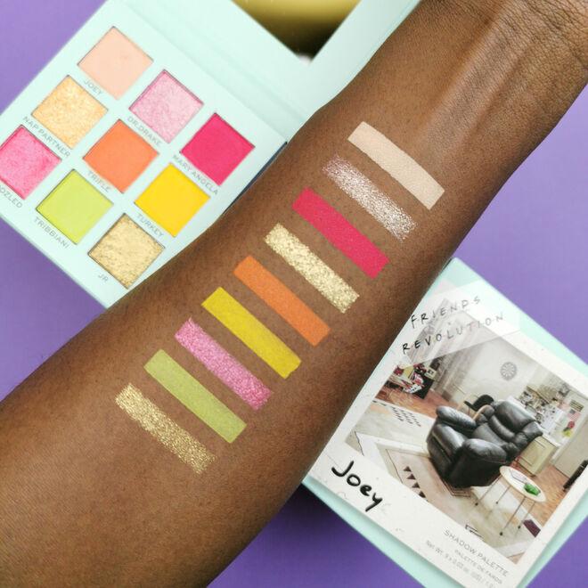 Friends X Makeup Revolution Joey Eyeshadow Palette