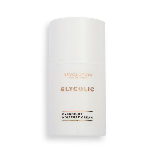 Revolution Skincare Glycolic Acid AHA Glow Night Cream