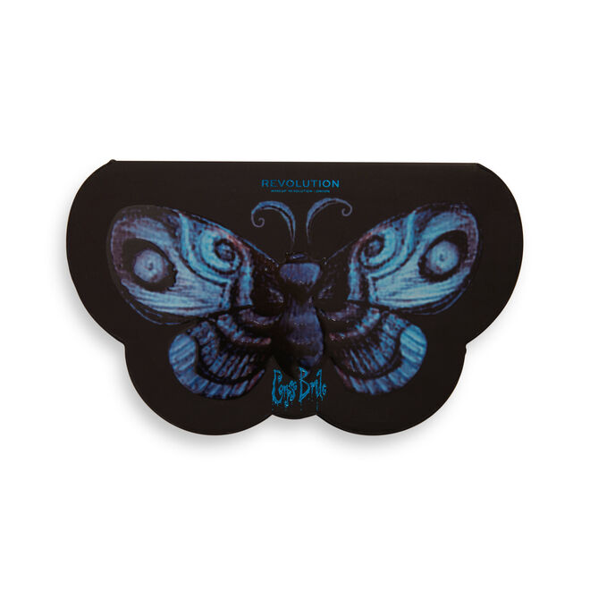 Corpse Bride X Makeup Revolution Butterfly Eyeshadow Palette