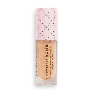 Makeup Revolution Soft Glamour Shimmer Bomb Lip Gloss Glistening