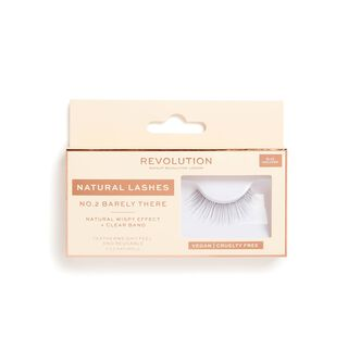 No.2 Barely There - Natural Lashes