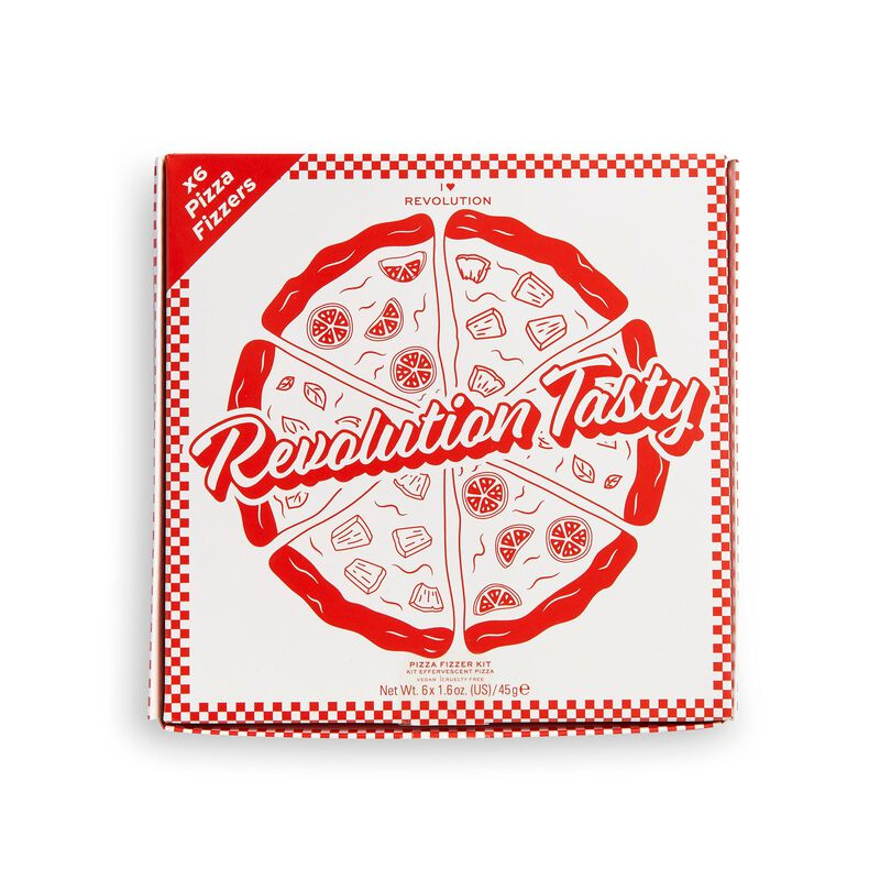 I Heart Revolution Tasty Pizza bath fizzer kit