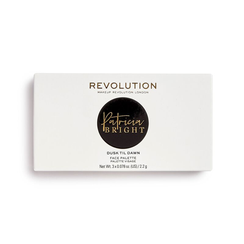 Revolution X Patricia Bright Dusk Till  Dawn Face Palette