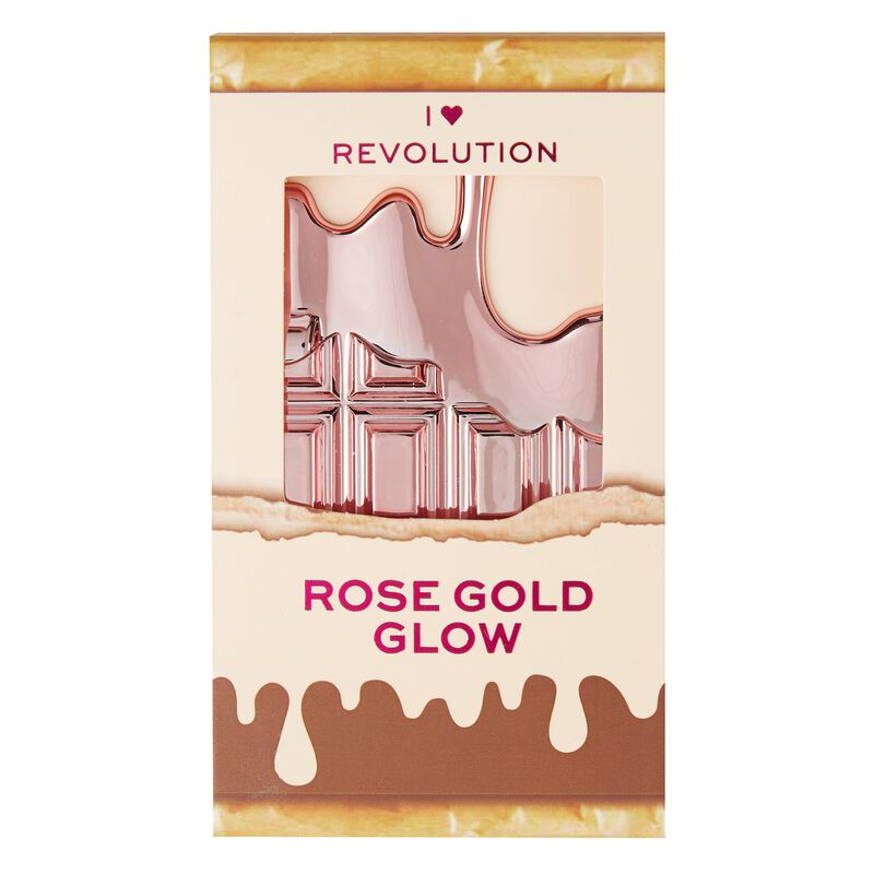 Rose Gold Glow Mini Chocolate Palette