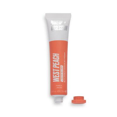 Makeup Obsession Desert Liquid Blush West Peach