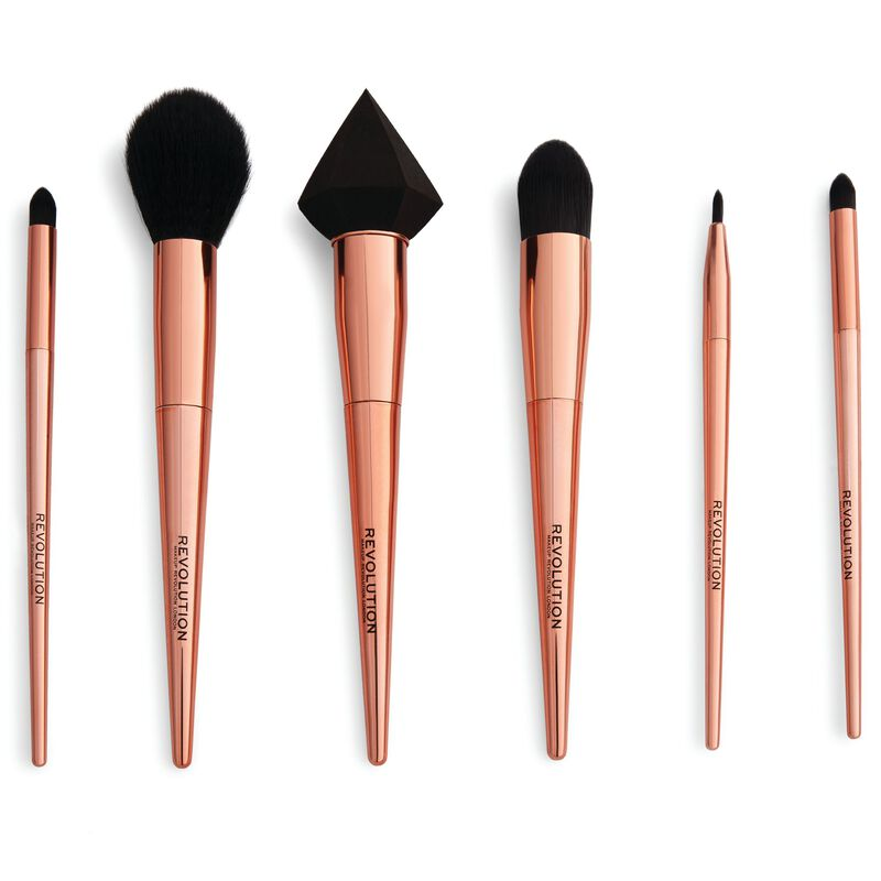 Reloaded Rose Gold Brush Set
