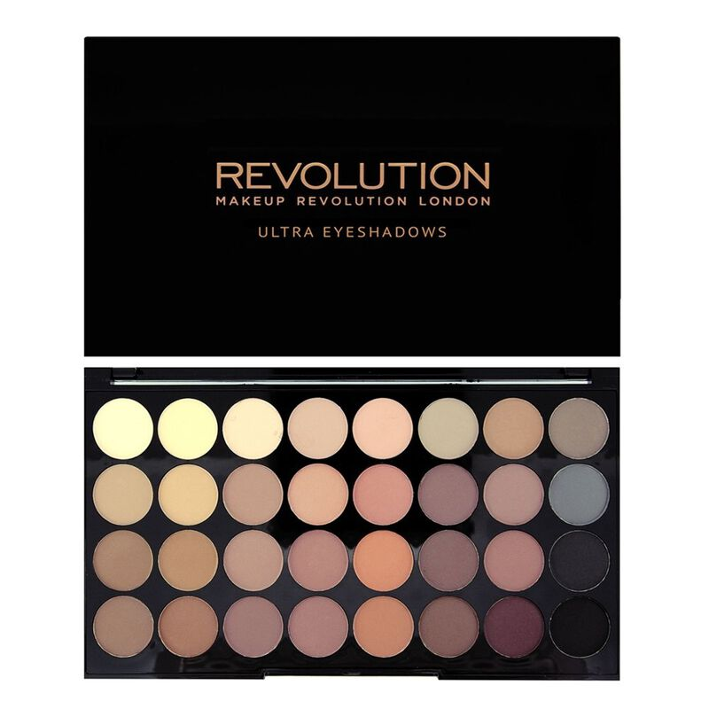 Makeup Revolution Ultra 32 Shade Flawless Matte Eyeshadow Palette