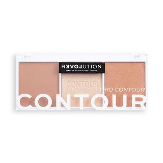 Relove by Revolution Colour Play Contour Trio Palette Baked Sugar
