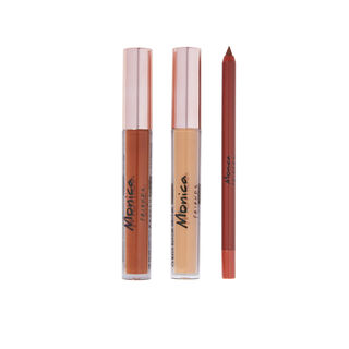 Makeup Revolution X Friends Monica Lip Set