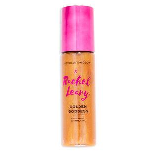 Makeup Revolution Glow X Rachel Leary Golden Goddess Shimmer Oil
