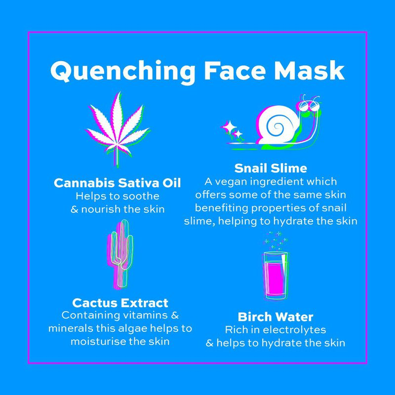 Thirsty Mood Quenching Overnight Face Mask