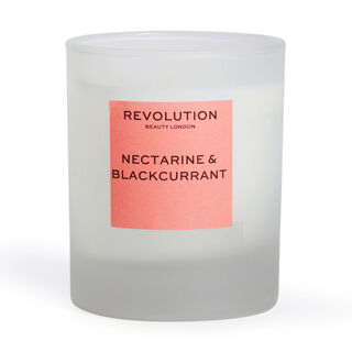 Revolution Home Nectarine & Blackcurrant Scented Candle