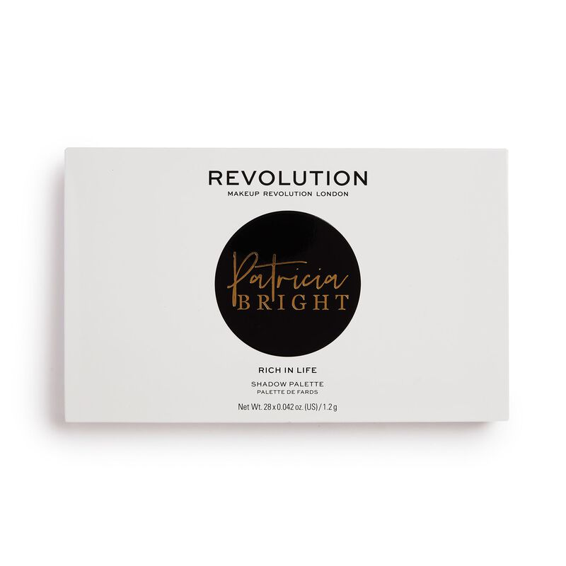 Revolution X Patricia Bright Rich In Life Eyeshadow Palette
