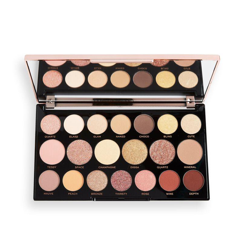 Makeup Revolution Precious Glamour MegaStar Eyeshadow Palette Diamond Edition