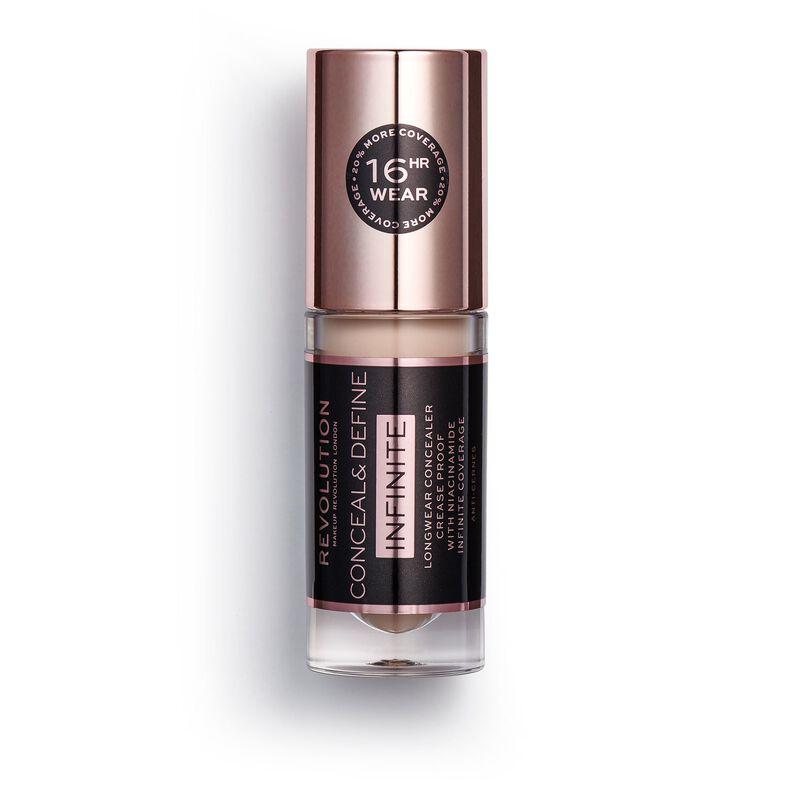 Makeup Revolution Conceal & Define Infinite Longwear Concealer (5ml) C4