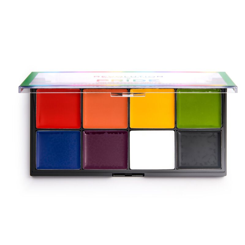 X Pride Express Myself Face Paint Palette