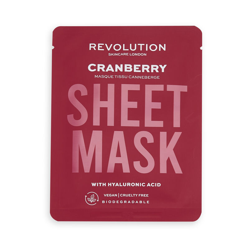 Revolution Skincare Biodegradable Dehydrated Skin Sheet Mask 3 Pack