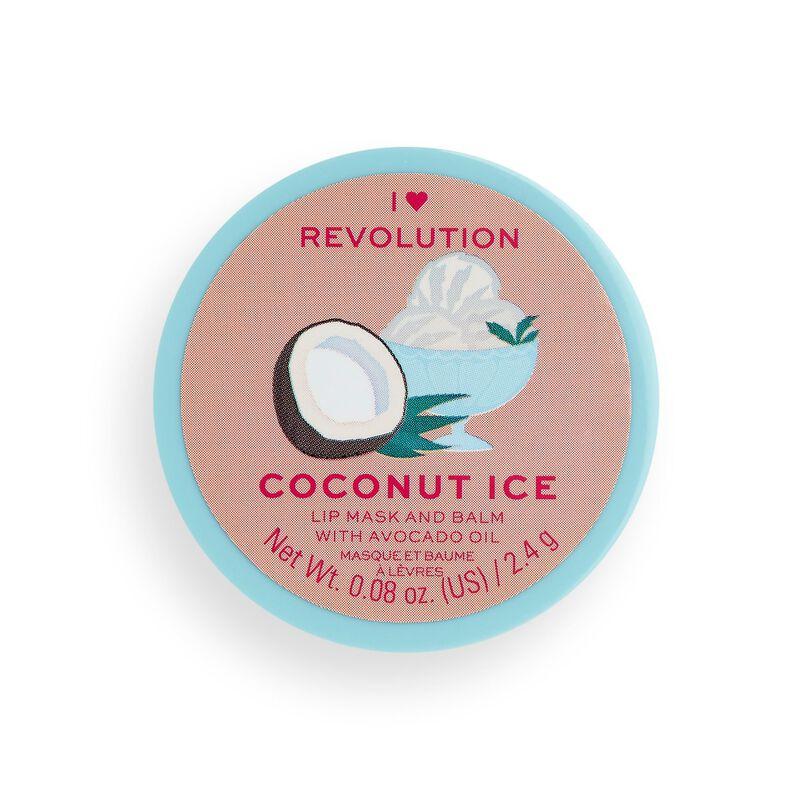 I Heart Revolution Lip Mask & Balm Coconut Ice