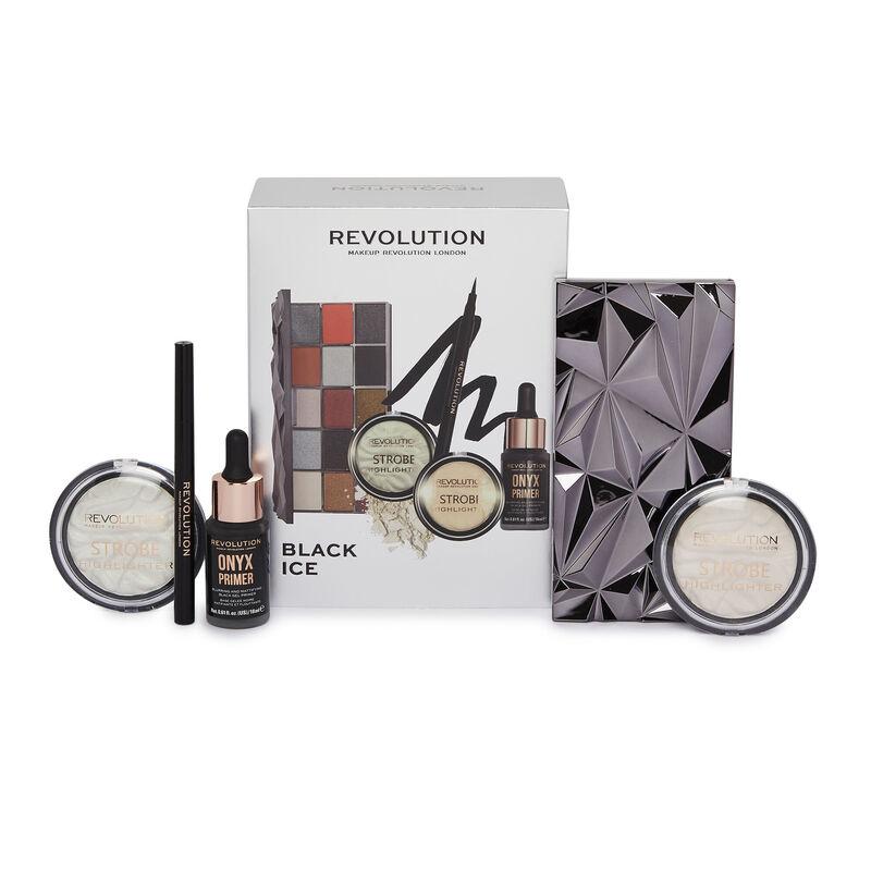 Makeup Revolution Black Ice Set