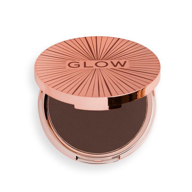 Makeup Revolution Glow Splendour Bronzer Deep Dark